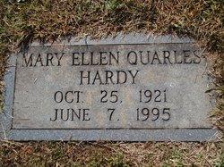 Mary Ellen <i>Quarles</i> Hardy