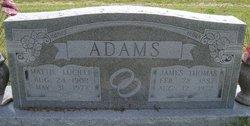 Mattie Lucille <i>Glenn</i> Adams