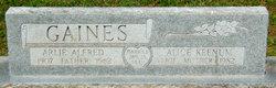 Alice <i>Keenum</i> Gaines