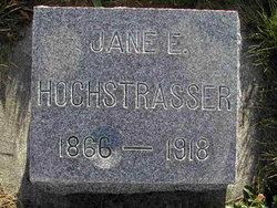 Jane Eleanor <i>Fullmer</i> Hochstrasser