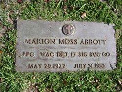Marion Moss Abbott