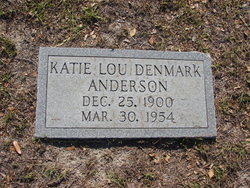 Katie Lou <i>Denmark</i> Anderson