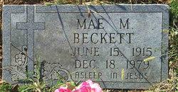 Mae M. Beckett