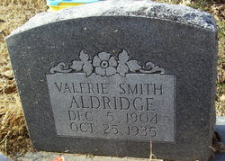 Valerie <i>Smith</i> Aldridge
