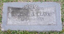 Pauline J. <i>Simons</i> Clark