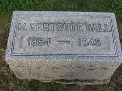 Mary Gertrude <i>Young</i> Ball