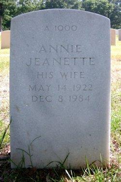 Annie Jeanette Atkinson