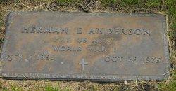 Herman E Anderson