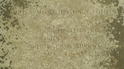 Louisa McCord <i>Stoney</i> Popham