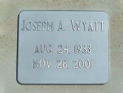 Joseph Allan Wyatt