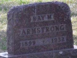 Raymond M Ray Armstrong