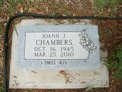 JoAnn Julia <i>Snyder</i> Chambers
