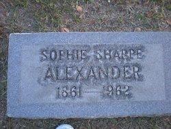 Sophie <i>Sharpe</i> Alexander