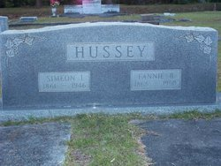 Fannie Bell <i>Thigpen</i> Hussey