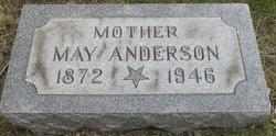 May <i>Benson</i> Anderson