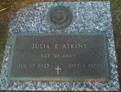 Julia E Atkins