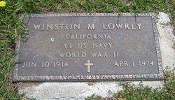 Winston M. Lowery