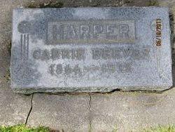 Carrie <i>Reeves</i> Harper