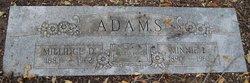 Minnie Leona <i>Trapp</i> Adams