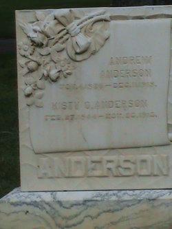 Kisty <i>Olsen</i> Anderson