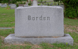 Infant Daughter Borden