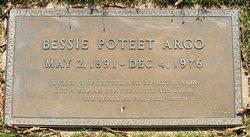 Bessie Poteet Argo