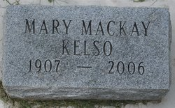 Mary <i>MacKay</i> Kelso