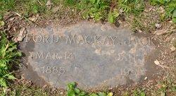 Ford MacKay Jack