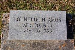 Lounette H. Amos