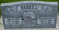 George Blaine Merrill