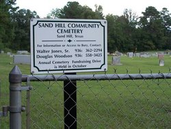 Sand Hill Community Cemetery