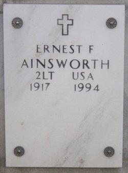 Ernest F Ainsworth