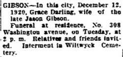 Grace <i>Darling</i> Gibson
