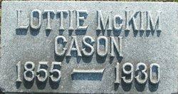 Charlotte Ann <i>McKim</i> Cason