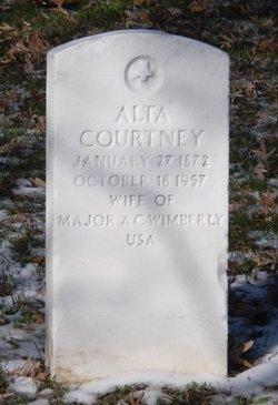 Alta Courtney Midkiff <i>Glover</i> Wimberly