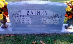 George Willie Baines