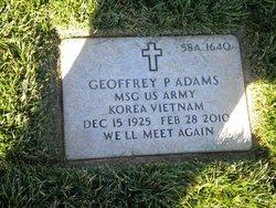 Geoffrey Paul Adams