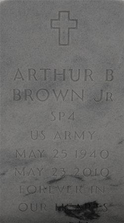 Arthur B Brown, Jr