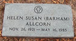 Helen Susan <i>Barham</i> Allcorn