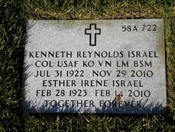 Col Kenneth Reynolds Israel