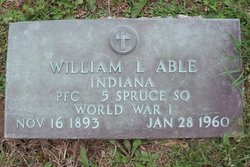 PFC William Lawrence Able