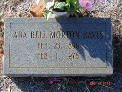 Ada Bell <i>Morton</i> Davis
