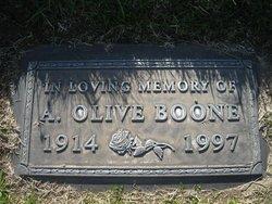 Alice Olive Boone
