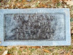 Nan <i>Anderson</i> Aldridge
