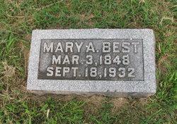Mary A. <i>Shaw</i> Best