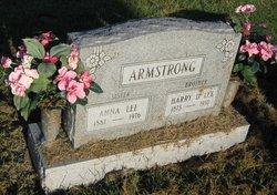 Anna Ethel Annie <i>Lee</i> Armstrong