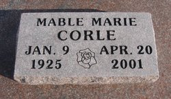 Mable Marie <i>Sweet</i> Corle