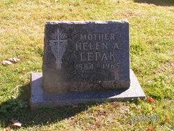 Helen A Ellen <i>Betker</i> Lepak