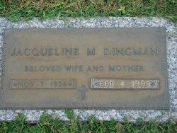 Jacqueline L <i>Watt</i> Dingman