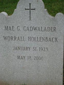 Mae Gouverneur <i>Cadwalader</i> Hollenback